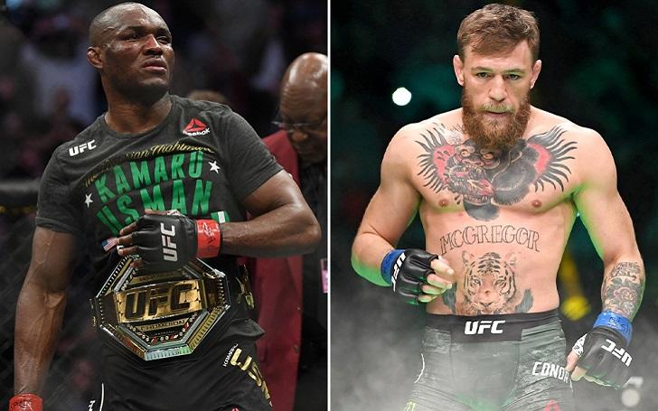 "UFC 246: Conor McGregor on Kamaru Usman: ""He has a sniff the jockstrap style""."