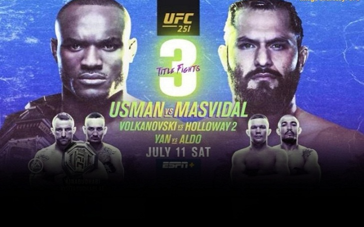 UFC 251 Fighters Salary, Incentive Pay, and Sponsorship Bonus