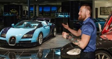 'Conor Never Buys a Damn Thing'. Rolls Royce, Rolex to Versace, the Notorious is Sponsored by All; Says John Kavanagh