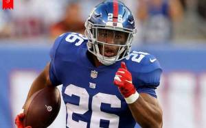 21 Years 'New York Giants' Running Back Saquon Barkley Recently Has a Daughter with his Girlfriend, Know About Their Relationship