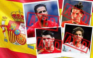 23-men Squad of Spain for 2018 World Cup Russia; Morata, Bellerin and Fabregas are not named in the squad