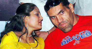 45 Years Professional Wrestler Great Khali Is In a Married Relationship With Wife Harminder Kaur Since 2002