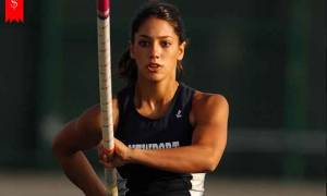 American athlete and Girlfriend of Golfer Rickie Fowler, Allison Stokke has $100 thousand Net worth