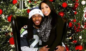 Age 30, American Footballer Richard Sherman Recently Married Longtime Girlfriend Ashley Moss