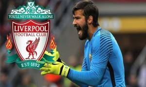 Alisson Becker to Liverpool F.C.: