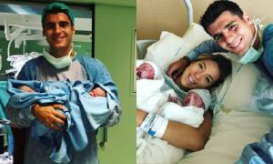 Alvaro Morata's Wife Alice Campello Gives Birth to Twins Baby Boys: Sons' Photos