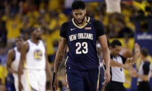 Anthony Davis pulls alternative Attire to the Game 2 against Golden State Warriors