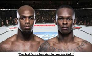 Beef Out Of Thin Air Israel Adesanya Says Jon Jones Was Built Like a Dorito With Chopsticks, & Bones Was A Goat Before USADA