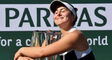 Bianca Andreescu Defeats Angelique Kerber to Win the Indian Wells title; Receives $1.35 million winner's cheque