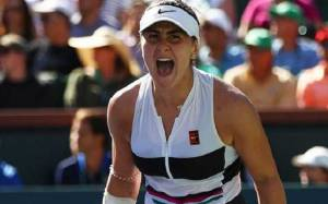 Bianca Andreescu Disappoints Angelique Kerber for the Second time within a week; Reached the fourth round of the Miami Open