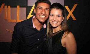 Brazilian Footballer Paulinho's Relationship With Wife Barbara Cartaxo, Their Children & Married Life
