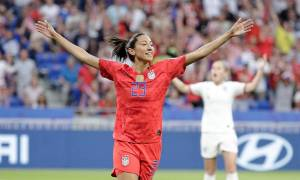 Christen Press Displays Heroic performance in Absence of Megan Rapinoe