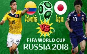 Colombia Vs Japan: Kick-off time, Venue, Channel, Possible Line-up, Players to Watch, Predictions & Betting Odds