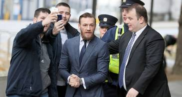Conor McGregor fined 1,000 euros for Dublin Assault