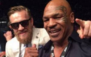 Conor McGregor Replies to Iron Mike Tyson's Kick his A** Comment