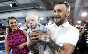 Conor McGregor reveals the Name and Gender of his Recently Born Child