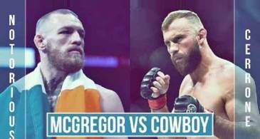 Conor McGregor vs Donald Cerrone In Jeopardy, After UFC Tries To Make it A Co-Main Event