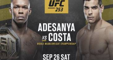 Dana White Believes Isreal Adesanya Vs Paulo Costa will be a 'Badass Fight'