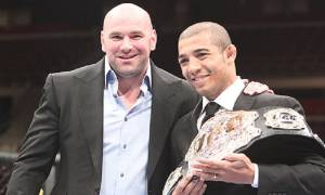 "Dana White on Jose Aldo's thoughts on moving to Bantamweight division: ""There's no way that kid can make 135 pounds"""