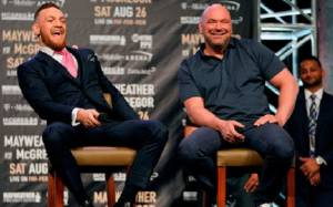 Dana White doesn't have Problem if Conor McGregor shows up at UFC 242 in Abu Dhabi