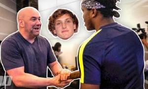 Dana White to Logan Paul: Trust me, don't play around over here, You will get hurt