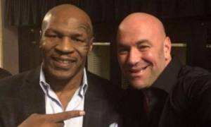 Dana White Visiting Mike Tyson's Training Camp, He Loves The Idea Of An Exhibition Fight