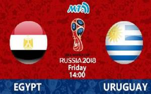 Egypt Vs. Uruguay: June 15th Russia World-cup Official Result