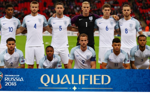England National Team 2018 FIFA World Cup