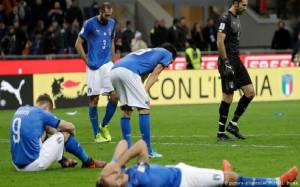 Four Times World Champion, Italy Knocked Out of World Cup Qualifying