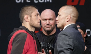 Georges St-Pierre: 'If I want the legacy fight, Khabib is the man to beat'