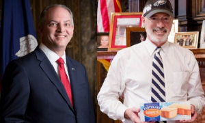 Governor John Bel Edwards Challenged Pennsylvania Governor Tom Wolf On A Saints vs The Eagles Bet