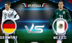 Sunday, June 17, Russia World Cup 2018, Group F Game Germany Vs. Mexico, Kickoffs, Lineups, True Betting Odds, Possible Results and Analysis
