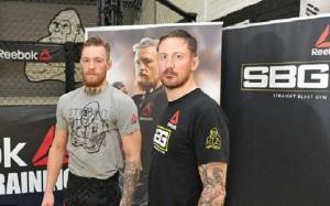Is there a split between Conor McGregor and his longtime coach John Kavanagh? Has Conor McGregor left Straight Blast Gym (SBG) following his loss to Khabib Nurmagomedov? Artem Lobov Denies