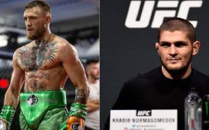 Khabib Nurmagomedov Puts Irish Fans On A Blast AT UFC 229 Open Workout, Khabib: In Three Days You're Gonna Like Me