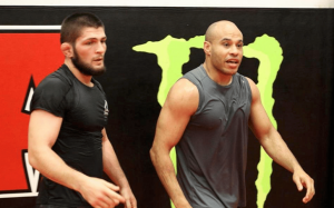 Khabib Nurmagomedov's manager Ali Abdelaziz slams the Notorious' new Physique: 'They're liars'