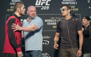 Khabib Nurmagomedov-Tony Ferguson Targeted for April