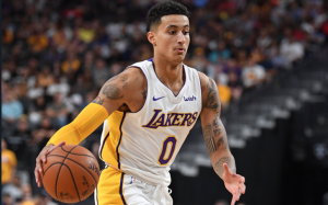 Kyle Kuzma Shines With Los Angeles Lakers In The NBA Rookie Season Against His Former Team, Utah
