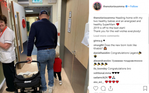 Lots Of Diapers For The McGregor Family, Conor McGregor Welcomes His Second Child