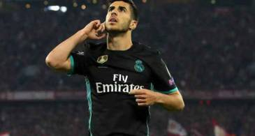 Marco Asensio Helps Real Madrid to Take a 2-1 Lead on Bayern Munich