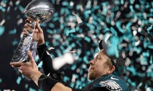 Matthew McConaughey Congratulates Nick Foles with a Full-Page Ad on Texas Newspaper