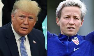Megan Rapinoe Vs Donald Trump for President in 2020? Poll finds the US Star ahead of the President