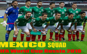 Mexico National Team 2018 FIFA World Cup