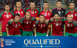 Morocco National Team 2018 FIFA World Cup