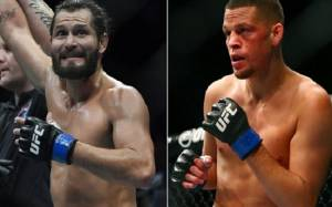 Nate Diaz Vs Jorge Masvidal at UFC 244