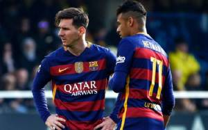 Neymar and Messi on the top of the Most Wasteful Players of the Weekend List