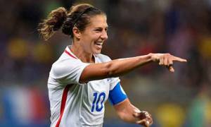 Olympic Gold Medalist Footballer Carli Lloyd Salary Earnings and Net Worth, she has Accumulated. Know in Details