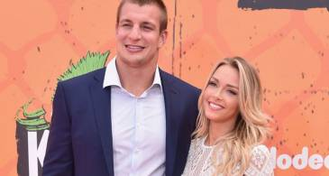 Rob Gronkowski is Dating his Girlfriend Camille Kostek; Details about their Relationship