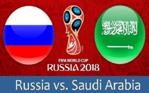 Russia Vs. Saudi Arabia, possible line up, kick off time and betting odds illustrated along with the results