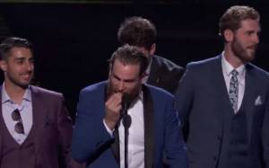 Ryan O'Reilly Removes Tooth To Deliver ESPY Award Speech