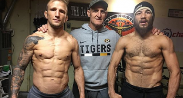 See T.J Dillashaw's Super Shredded Body  Shows, He Seems Ready For Henry Cejudo Challenge At the Flyweight